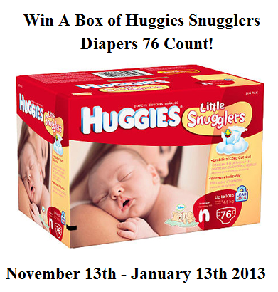 Huggies Diaper Giveaway – Forget the Coupon Win some Free Diapers