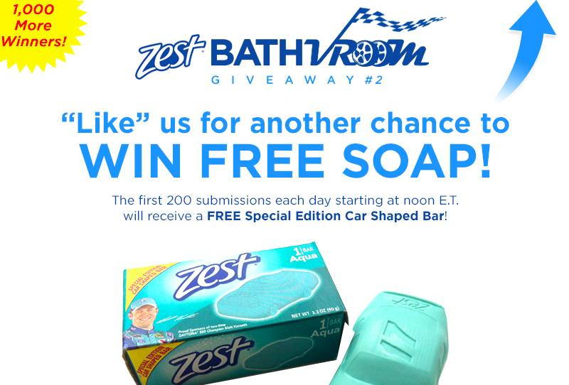 The Free Zest Soap Giveaway #2