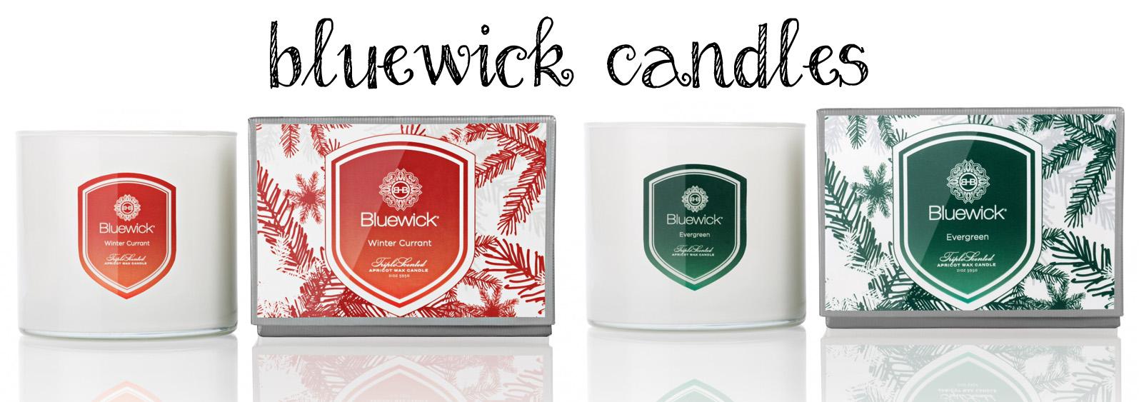 Bluewick triple wick candles (2)