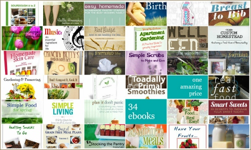 34 Assorted Healthy Living Downloadable eBooks Giveaway