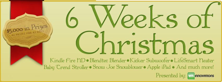 6 Weeks of Christmas Giveaway