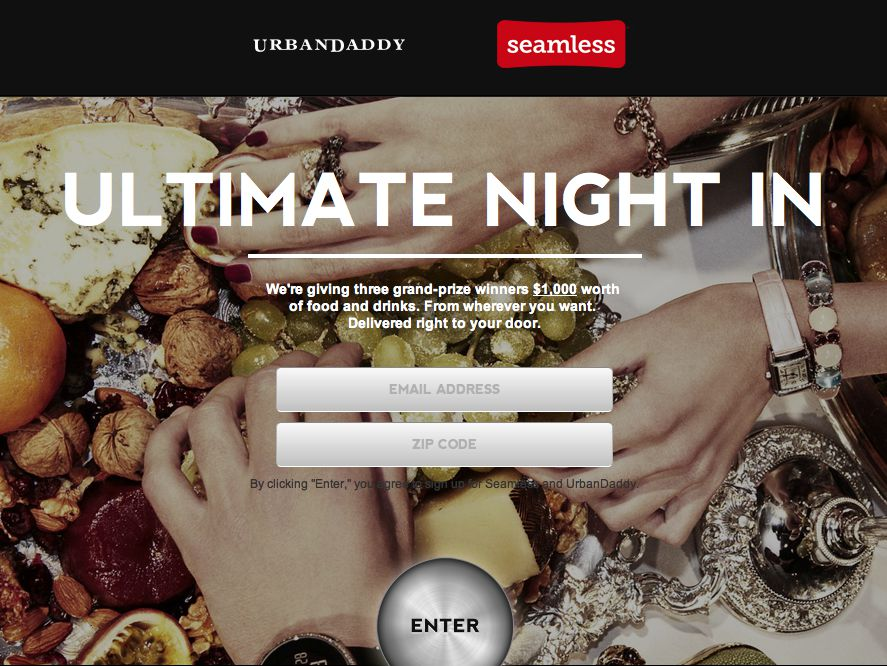 The Ultimate Night In Sweepstakes