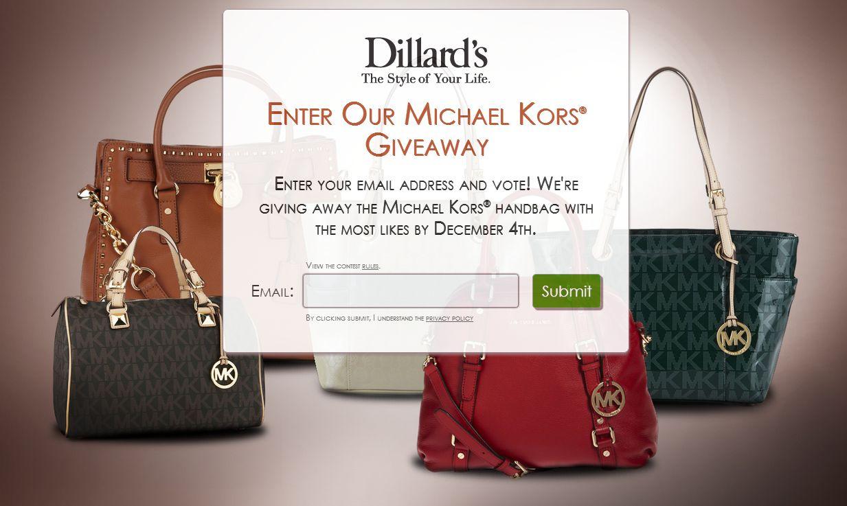 DILLARD'S Michael Kors Online Contest