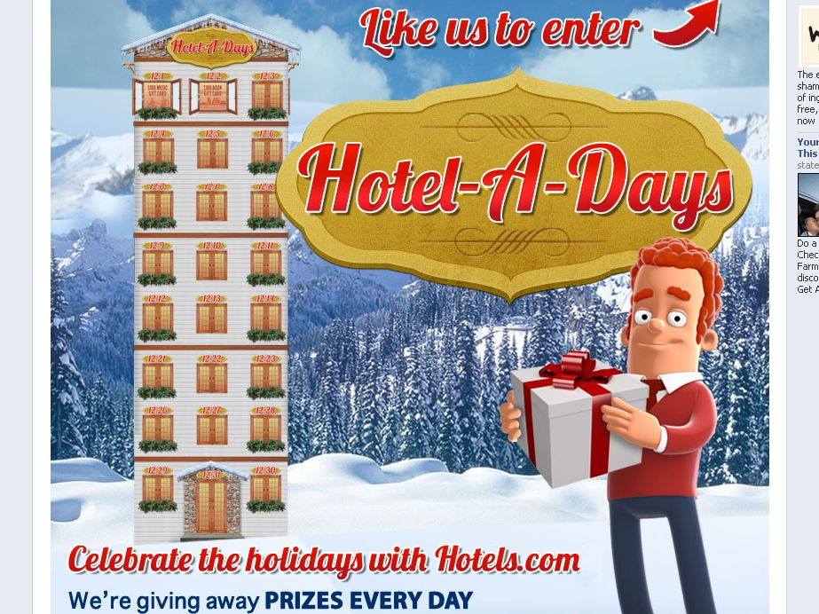 Hotels.com Hotel-A-Days Sweepstakes