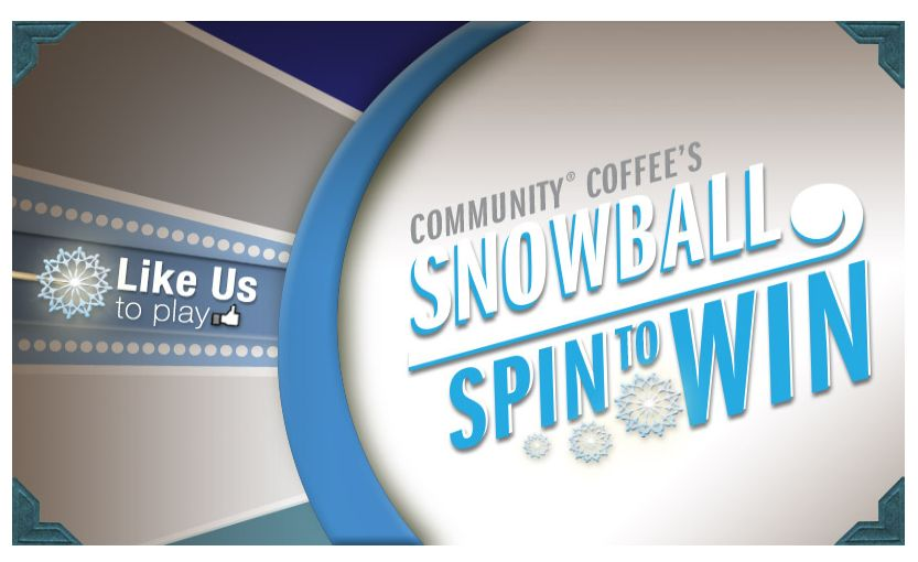 Snowball Spin to Win Instant Win Game