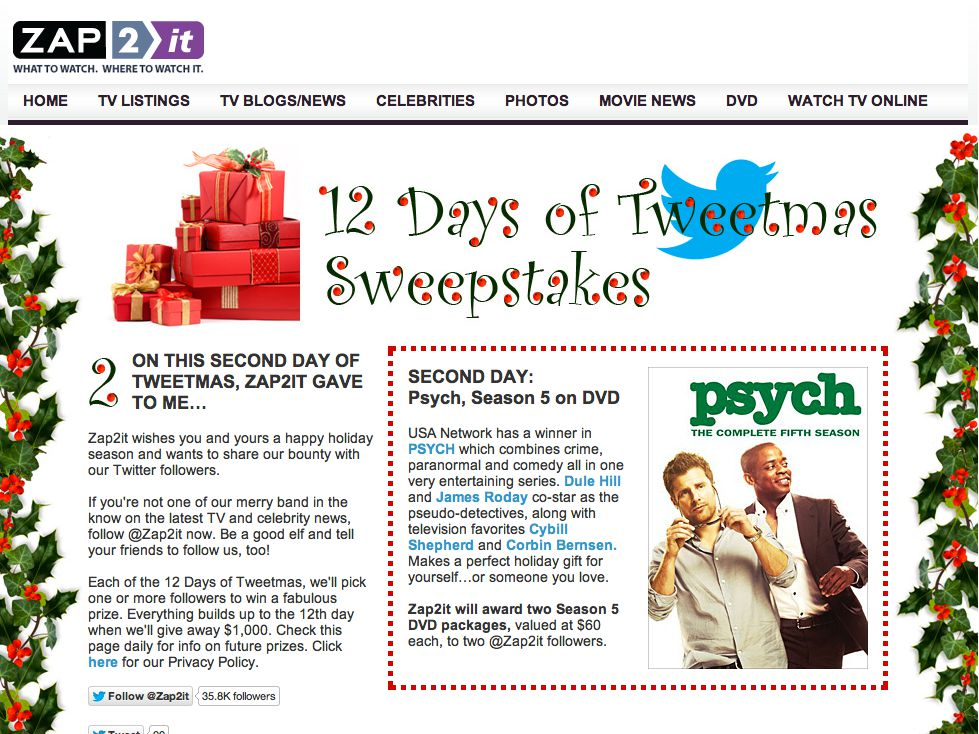12 Days of Tweetmas