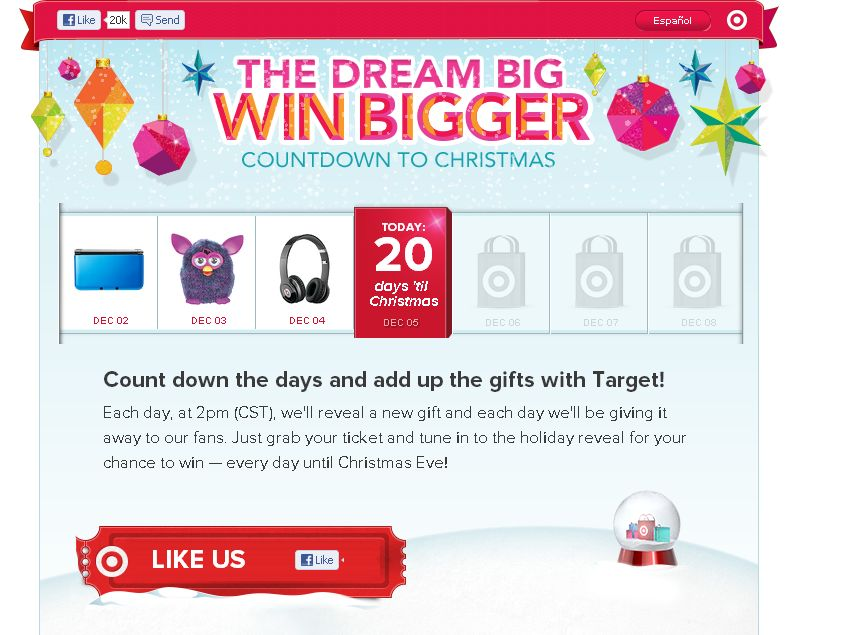 Target Dream Big, Win Bigger Sweepstakes