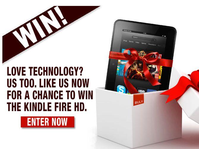 Win a Bulx.com Kindle Fire HD Giveaway!