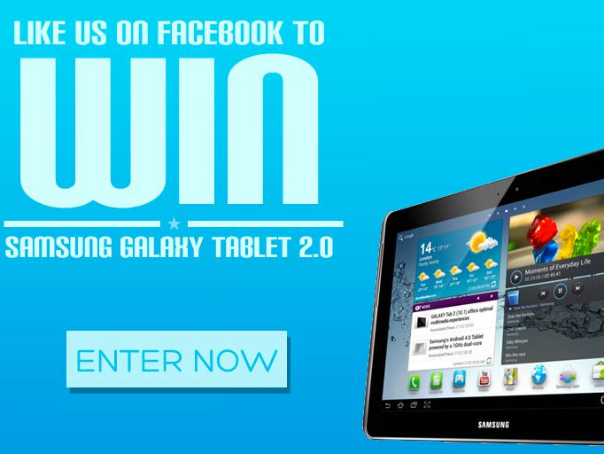 Win a Samsung Galaxy Tablet 2 From DealYard.com!
