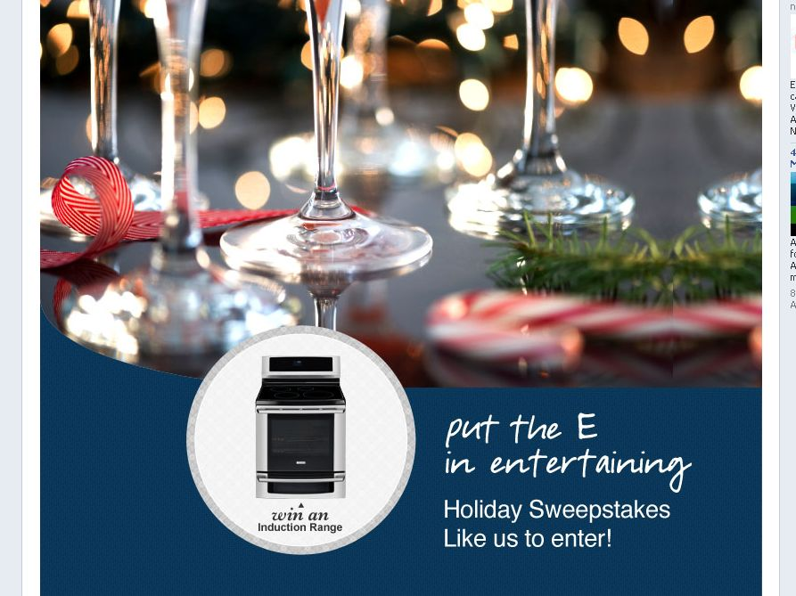 Electrolux Put the E in Entertaining Sweepstakes
