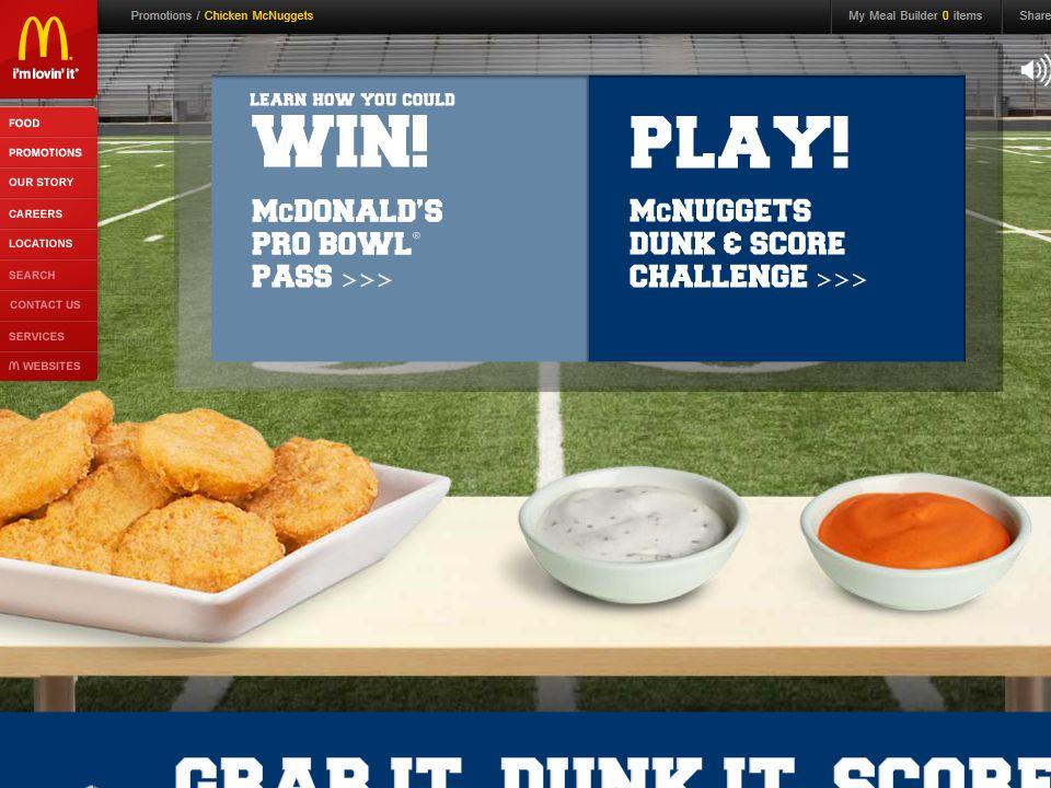 McDonald's Pro Bowl Pass Game