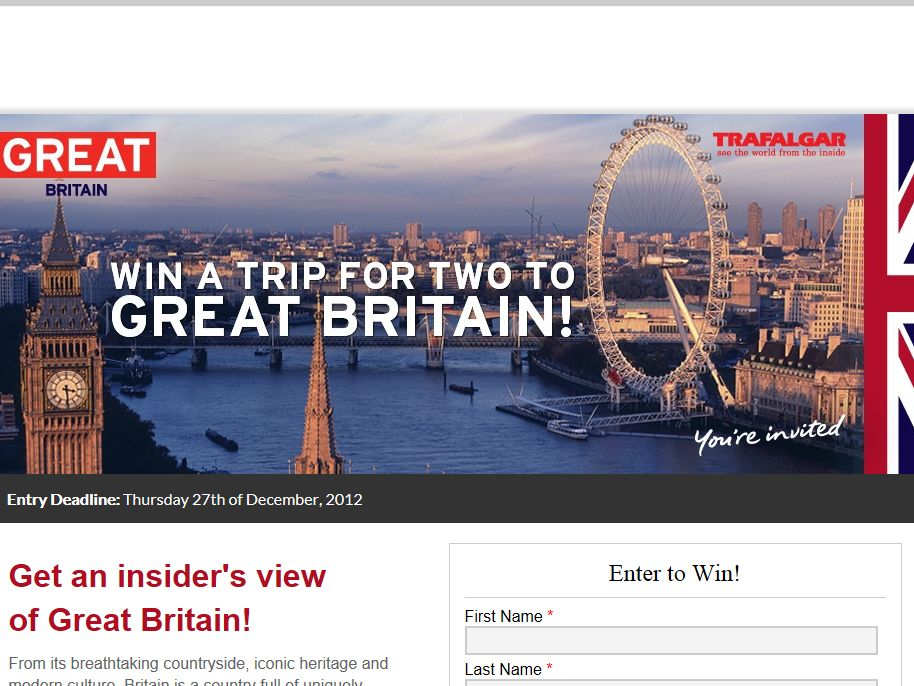 Britain Sweepstakes