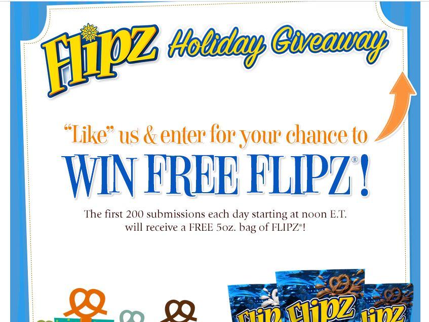 Free FLIPZ Pretzels Giveaway