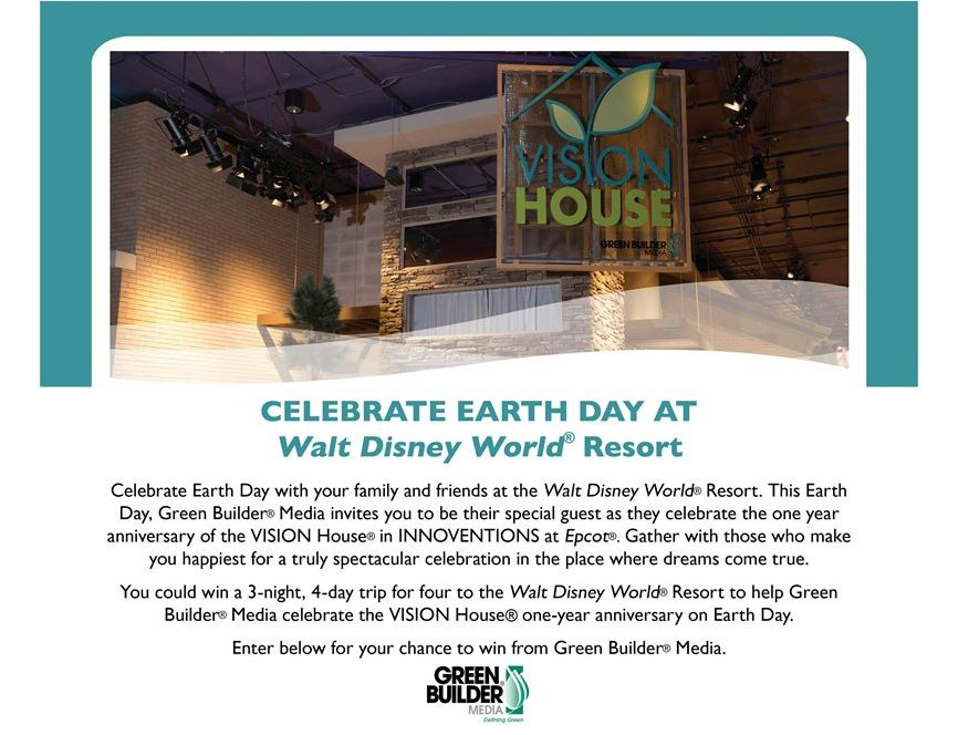 Green Builder Media Earth Day Giveaway