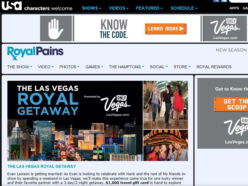 USA Las Vegas Royal Getaway