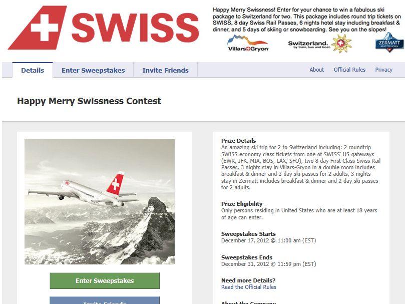 Happy Merry Swissness Contest