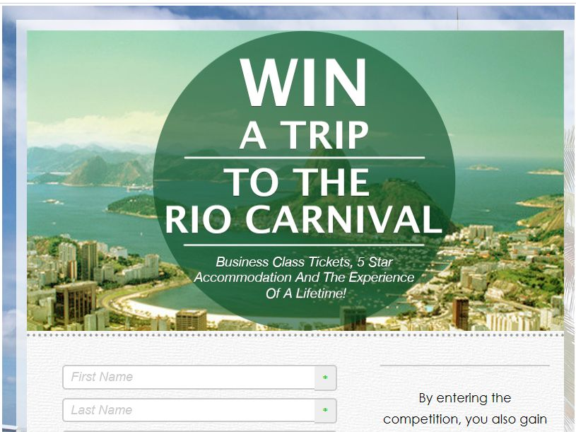 JetStream Win a Trip to the Rio Carnival Sweepstakes