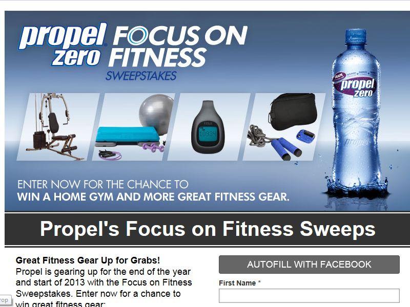 Propel Zero Focus on Fitness Sweepstakes