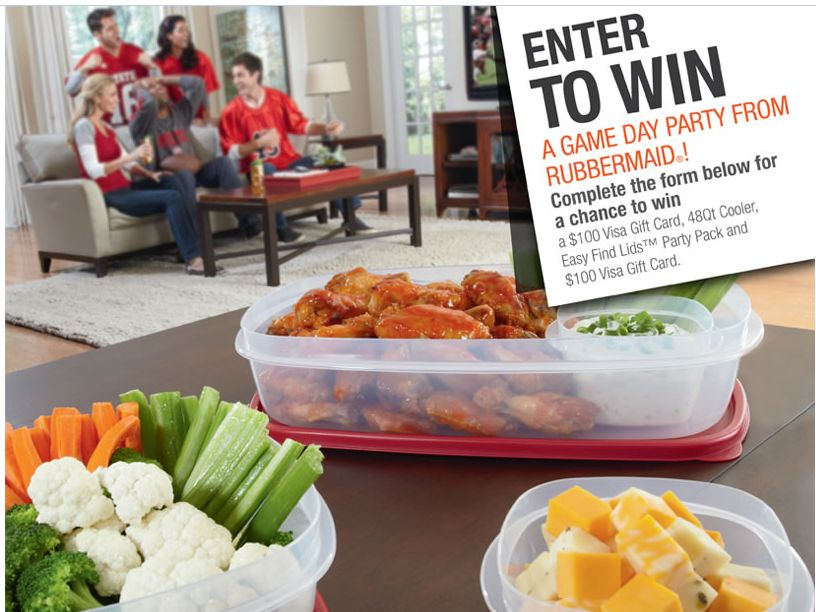 Rubbermaid Game Day Sweepstakes