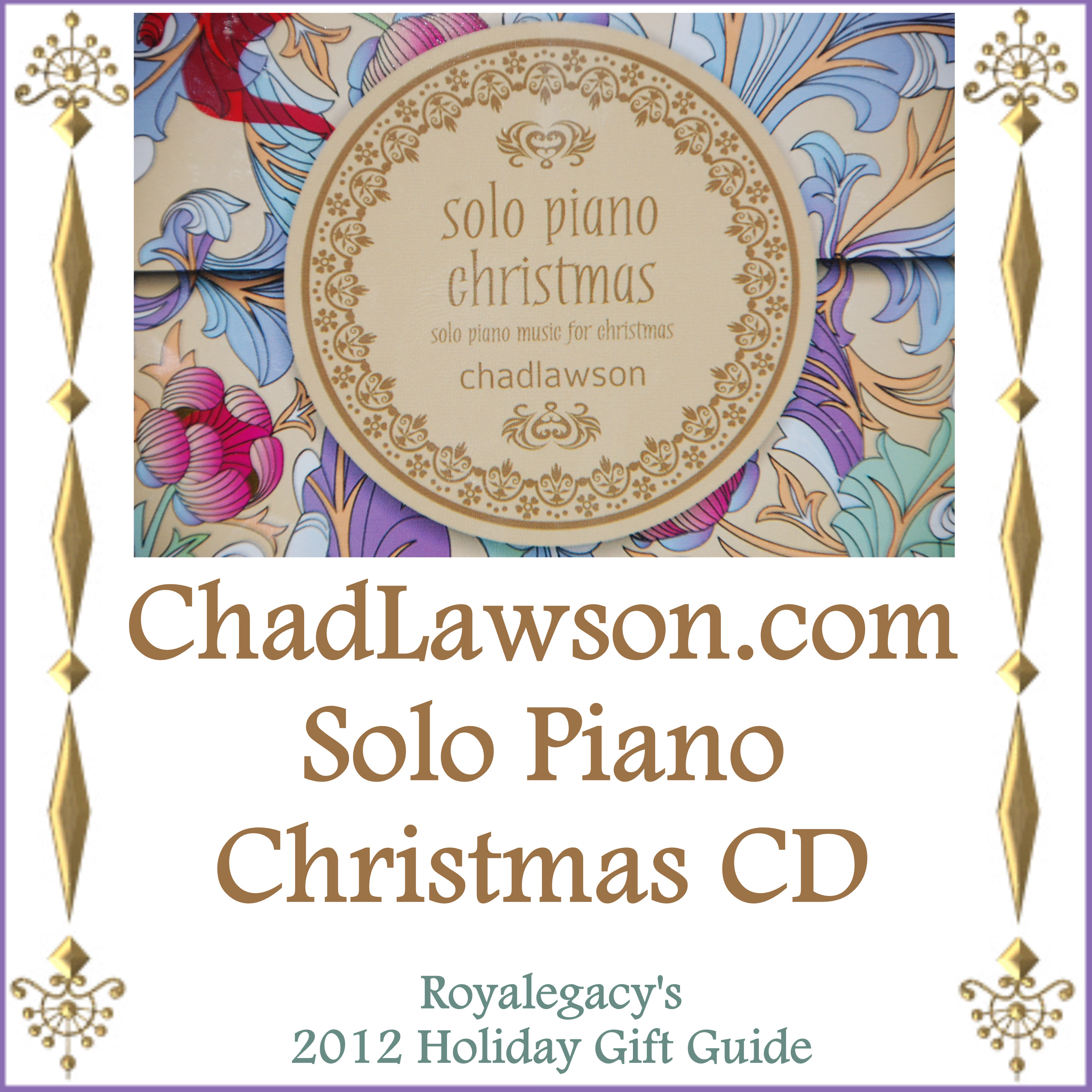 TWO Winners! A Solo Piano Christmas by Chad Lawson