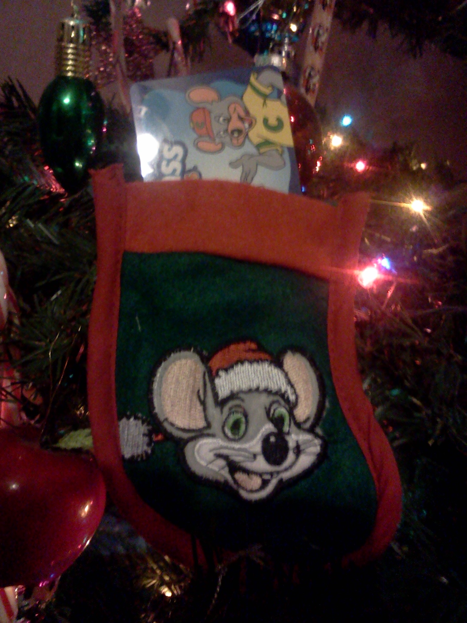 3 Gift Cards to Chuck E Cheese