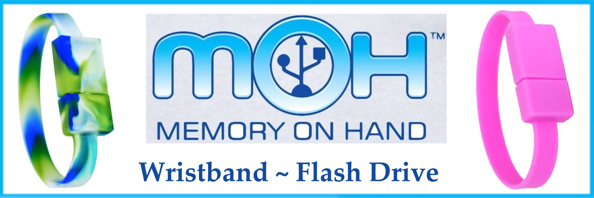 MoH 4GB Flash Drive Wristband 01/01/2013 US and CAN