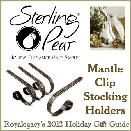 Stocking Holders from Sterling Pear Winner's Choice!