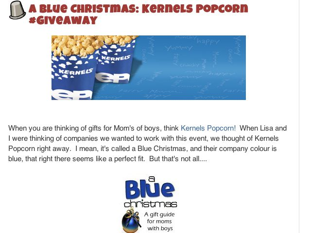 Kernels Popcorn Virtual Charity Gift Cards