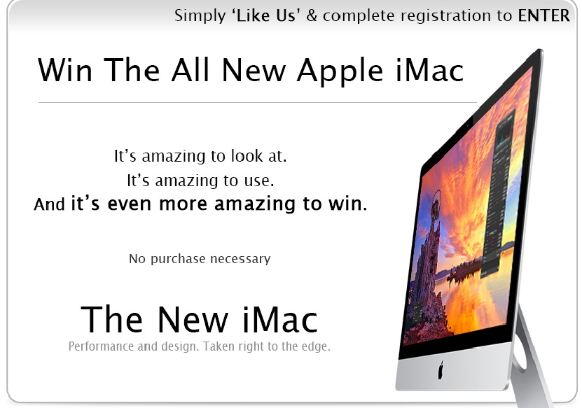 Win The All New Apple iMac From PrePayMania
