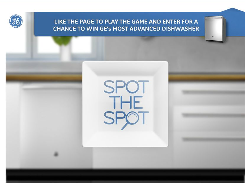 """General Electric """"SPOT THE SPOT"""" SWEEPSTAKES"""