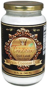 Tropical Traditions Virgin Coconut Oil