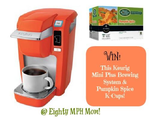 Eighty MPH Mom – Keurig Mini Plus Brewing System