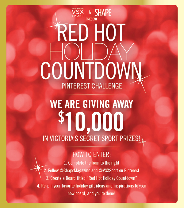 "Shape's ""Red Hot Holiday Countdown"" Contest"