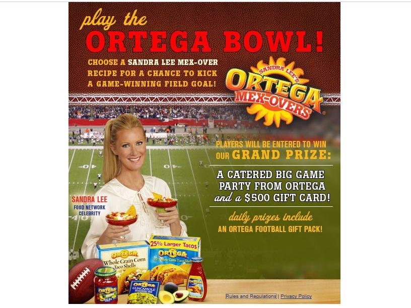 Ortega Bowl Sweepstakes