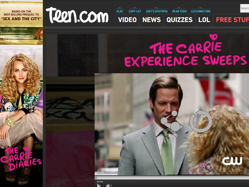 Teen.com Carrie Experience Sweepstakes
