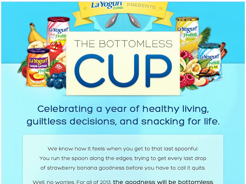 The Bottomless Cup: A Year of La Yogurt Probiotic Giveaways Sweepstakes