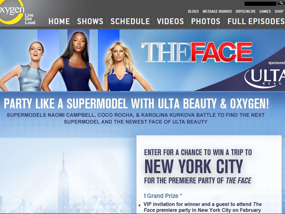 The Face – ULTA Flyaway Sweepstakes
