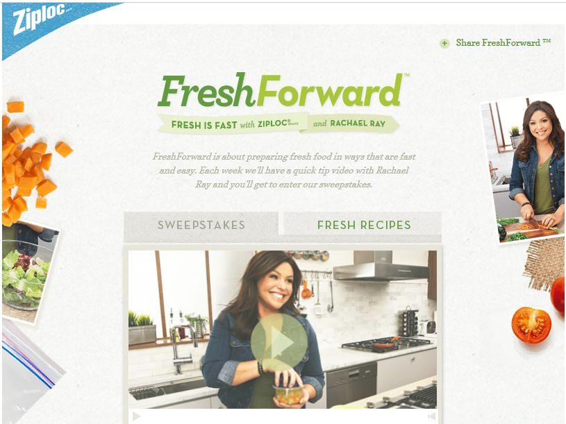 Ziploc Fresh Forward Sweepstakes