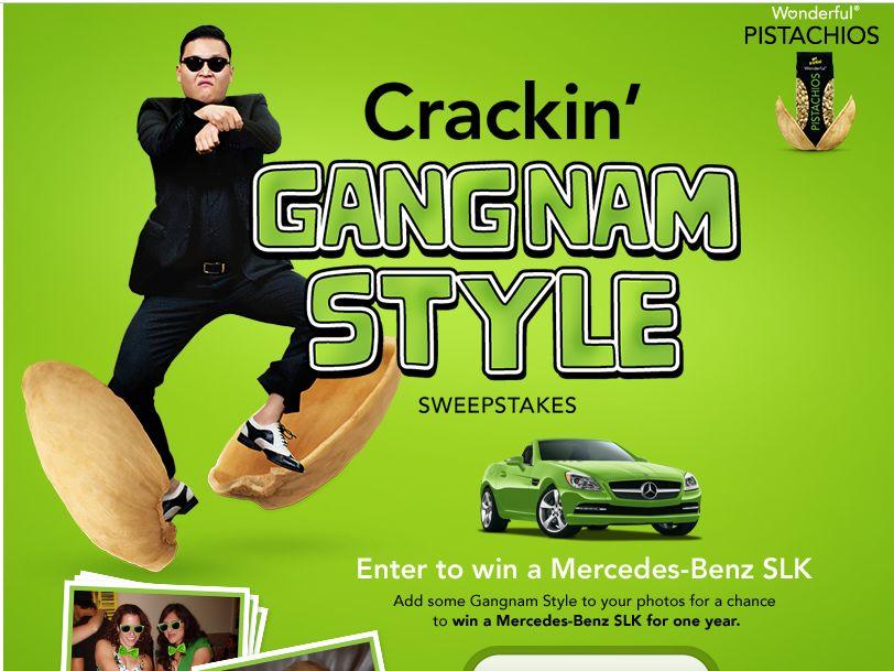 Crackin' Gangnam Style Sweepstakes