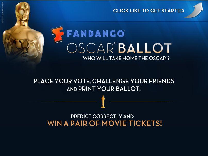 Fandango's Oscar Ballot Contest