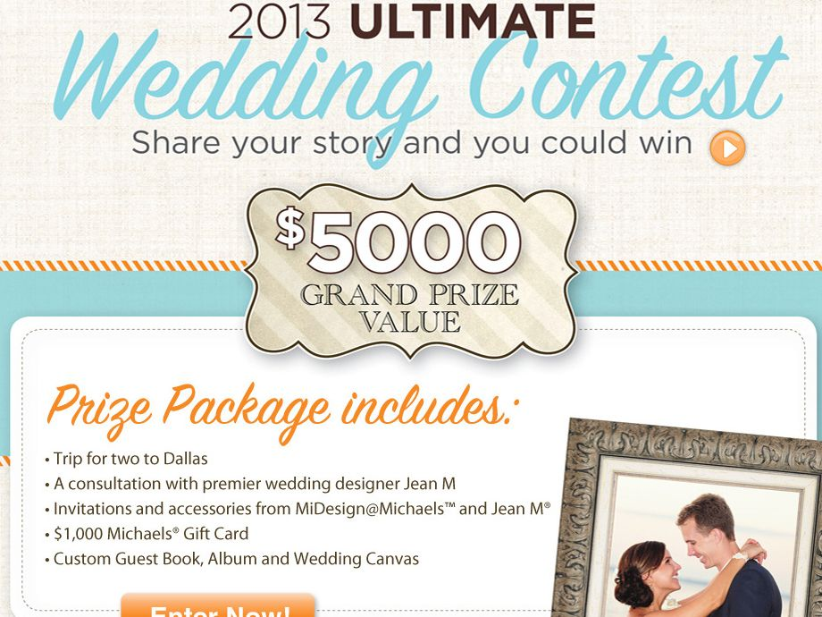 Pay for my wedding contest