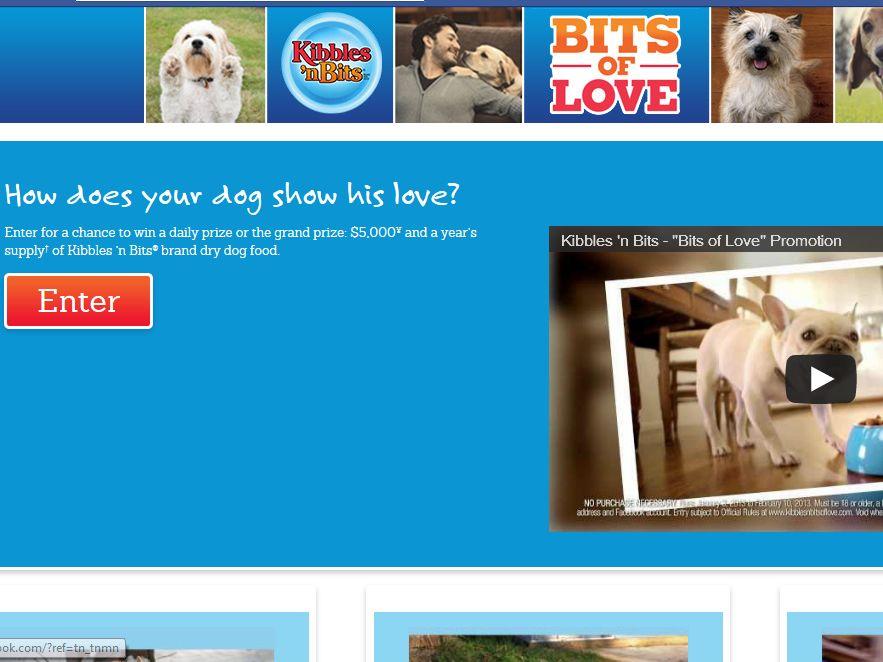 Kibbles 'N Bits Bits of Love Promotion
