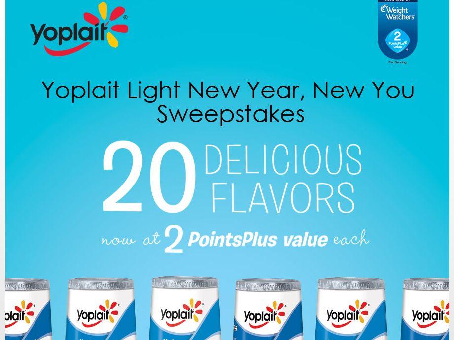 Yoplait Light New Year New You Atlanta Spa Flyaway Sweepstakes