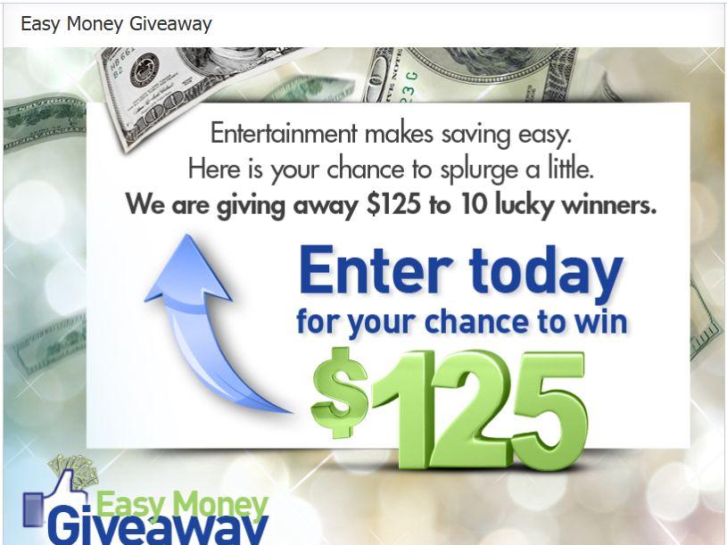 Easy Money Giveaway Sweepstakes