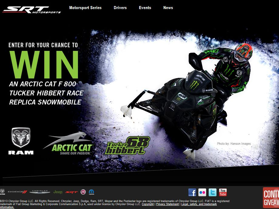 SnoCross Event Sweepstakes