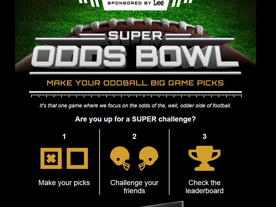 Super Odds Bowl Online Sweepstakes