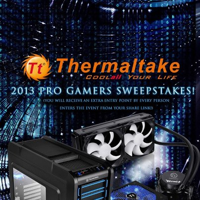 Daily Computer Part Prizes from Thermaltake
