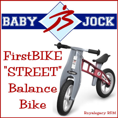 "Enter to win a Baby Jock FirstBIKE ""Street"" Balance Bike 02/04/2013 US"