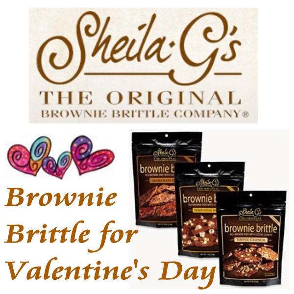 Sheila G's Brownie Brittle Giveaway