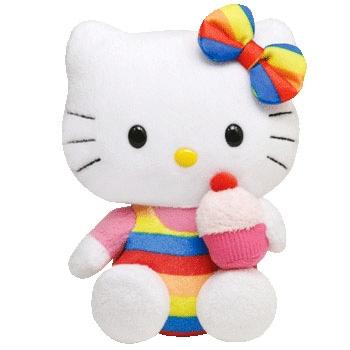 Hello Kitty Rainbow Plush